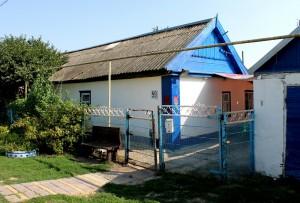 В этом доме семья Билетинских живет сейчас. Дом Натальиной мамы.