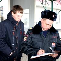 """Студенты Брюховецкого аграрного колледжа высадили """"десант"""" в полиции"""
