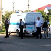 В Брюховецкой задерживают преступника