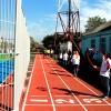 Спортгородок в Брюховецком аграрном колледже