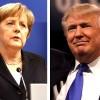Трамп, Меркель