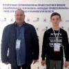 Алексей Матюха и его наставник Геннадий  Кочкалда